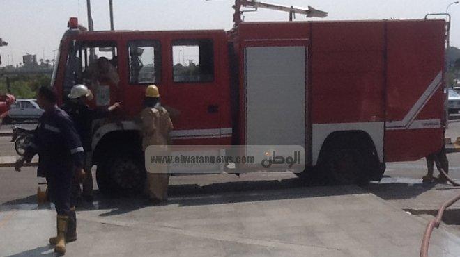 السيطرة على حريق نشب في مبنى إداري بمطار الغردقة الدولي