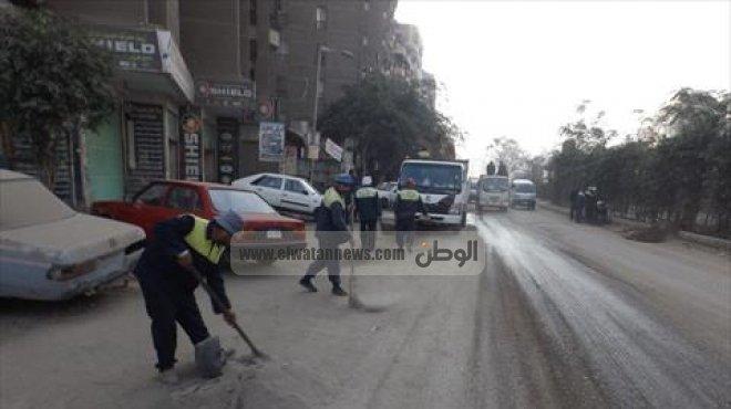 حملة توعية بالإسكندرية لعدم إلقاء المخلفات في الشوارع