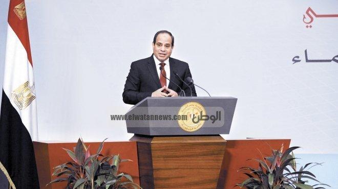 السيسي: الأزمة التي تواجهها مصر أكبر من أي رئيس