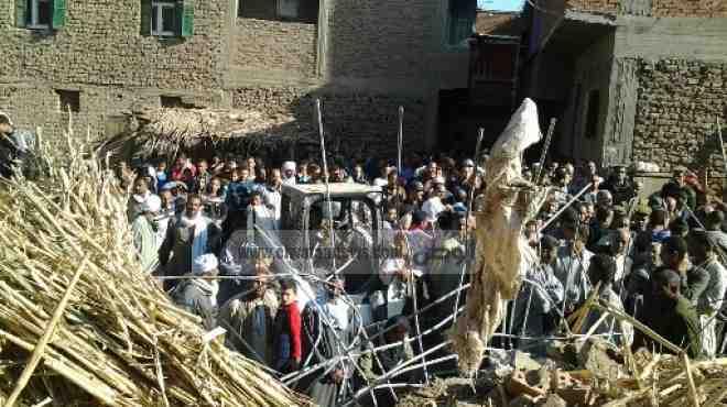 محافظ أسيوط يقرر صرف 100 ألف جنيه لضحايا حادث عقار