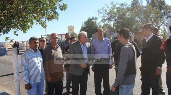 بالصور| محافظ جنوب سيناء يتفقد المدينة الشبابية بشرم الشيخ