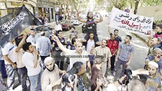 مظاهرات غاضبة أمام السفارة الأمريكية لليوم الثانى.. والأمن: لن نسمح بسيناريو ليبيا