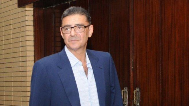 محمود طاهر يصل إلى تأبين شهداء الأهلي