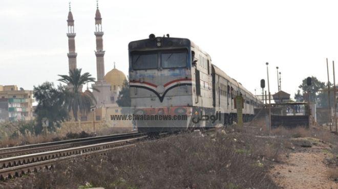 عودة حركة القطارات على خط