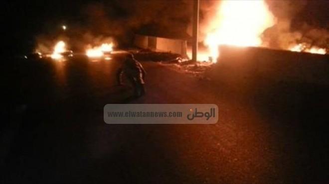 عاجل| هجوم على مديرية أمن شمال سيناء بـ