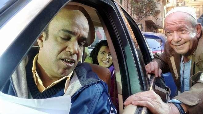 بالصور| سليمان عيد ينتهي من تصوير فيلم