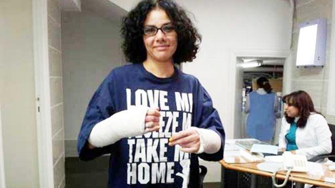 منى الطحاوي.. رهينة الاحتجاز في أمريكا بسبب