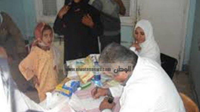 قافلة طبية مجانية لمساعدة المرضى الفقراء برعاية حي المنتزه أول