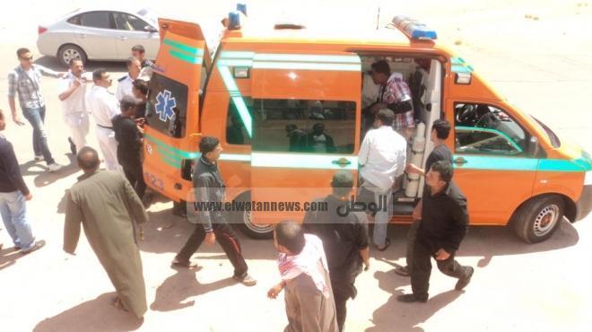 إصابة طالب بارتجاج في المخ بعد رشقه بالحجارة على يد نجل ابن عمه