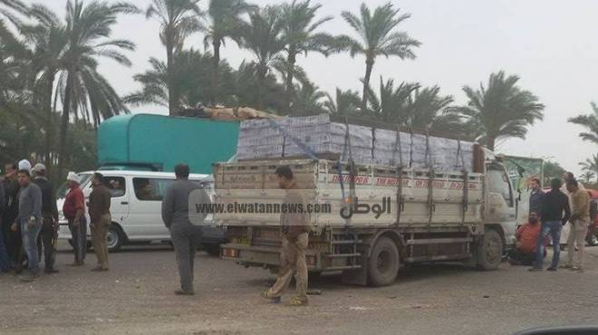 مصرع وإصابة 17 فى انقلاب سيارة على الطريق الصحراوى الشرقى بالمنيا