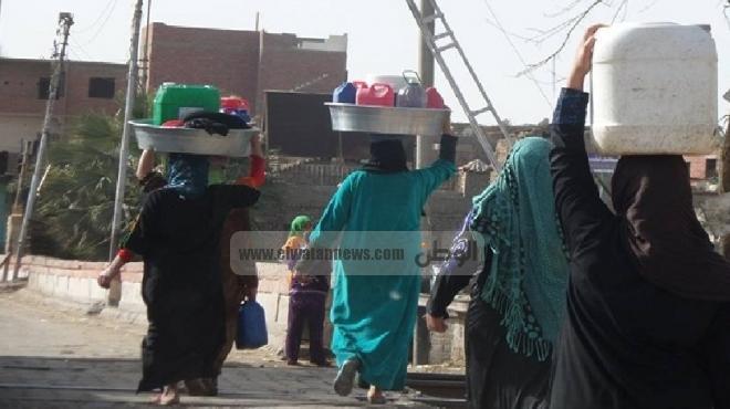 انقطاع مياه الشرب عن مركز بلبيس في الشرقية
