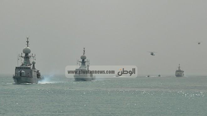 بالصور| ختام فعاليات التدريب المشترك المصري - البحريني