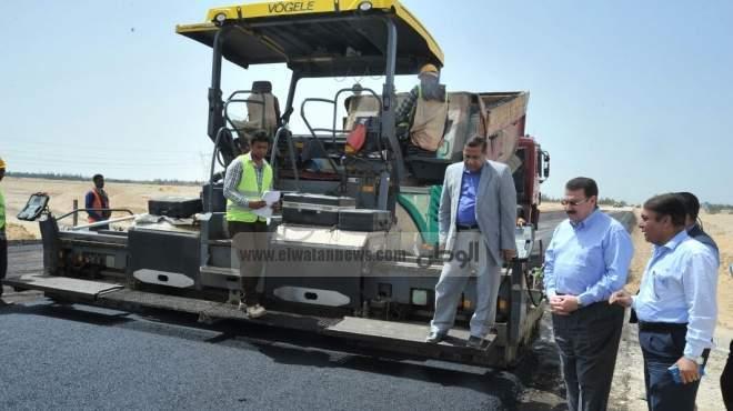 وزير النقل: معدلات إنجاز المشروع القومى للطرق بلغت 45٪