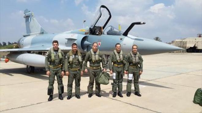 وصول قوات جوية يونانية إلى مصر للمشاركة في تدريب