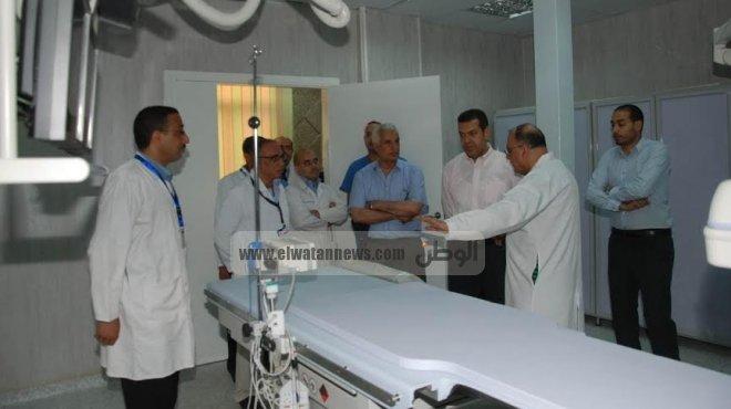 محافظ أسيوط يتفقد المستشفيات العامة لمتابعة أعمال تطويرها ورفع كفائتها