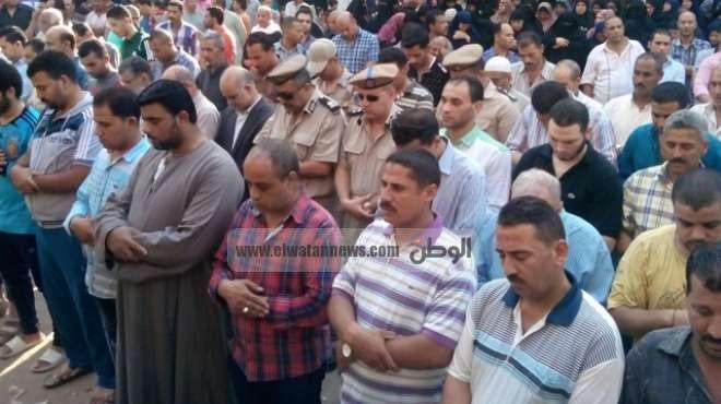 تشييع جثمان شهيد الحملة الأمنية بالخانكة في جنازة عسكرية بشبرا