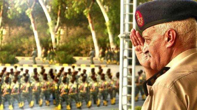 الهياتمي يترك إدارة كلية الضباط الاحتياط ليتسلم مهام منصبه محافظا لمطروح