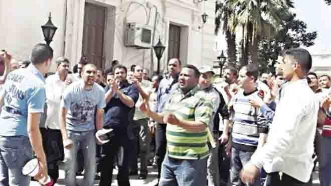 على طريقة «أجريوم».. أهالى مطوبس يتظاهرون ضد إقامة محطة غاز