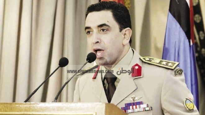 المتحدث العسكري: جنود حادث البدرشين تابعين لوزارة الداخلية