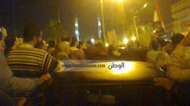وقفة لمئات المعارضين بدمياط والتيار الشعبي يستعرض انتهاكات الإخوان