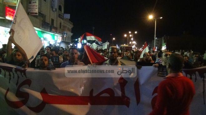مظاهرات الغردقة الرافضة للدستور: