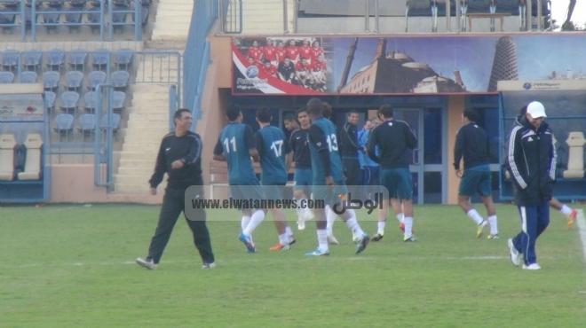 إنبي يهزم مصر المقاصة وديًا بثلاثة أهداف مقابل هدف بمشاركة عبد المنصف