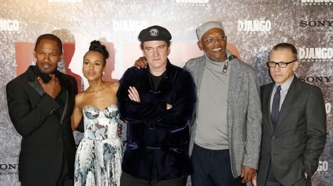 بالصور| نجوم فيلم Django Unchained يحضرون حفل افتتاحه في العاصمة الفرنسية
