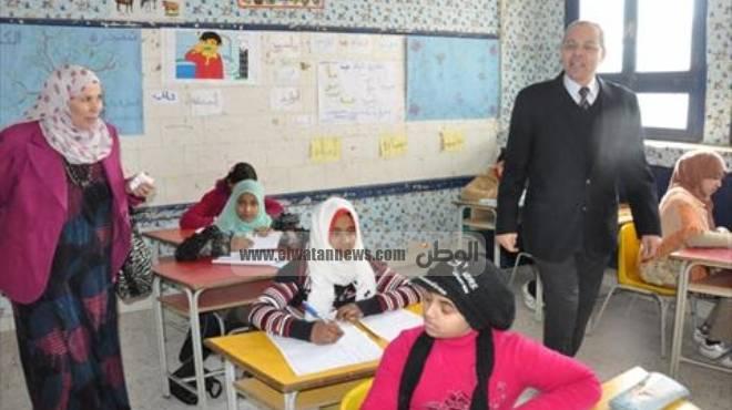 امتحان اللغة العربية للصف الرابع الابتدائي بمطروح من منهج الفصل الدراسي الثاني