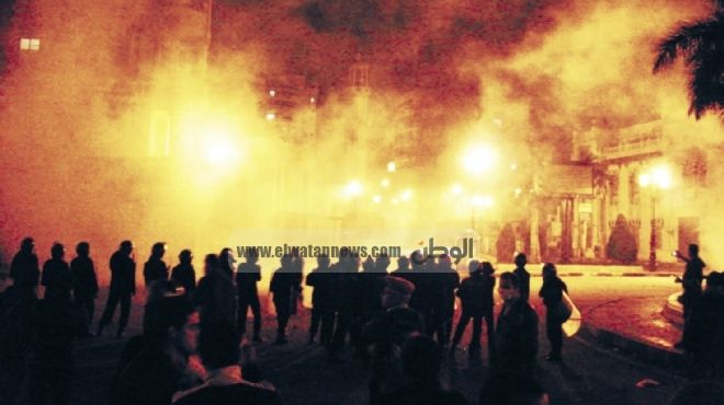 مقتل جزار وحرق منزل وسنترال إثر تجدد الاشتباكات بين عائلتين بالمنيا