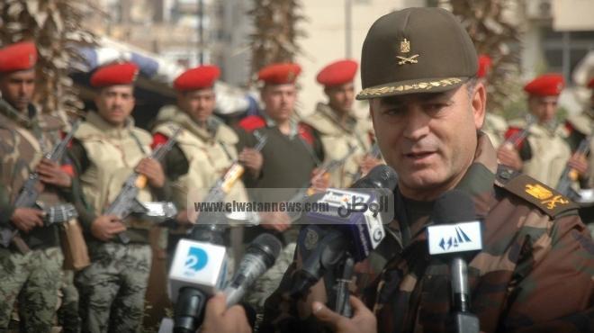 قائد الجيش الثالث: رجالنا سيظلون الحصن المنيع لمصر.. وبدو سيناء
