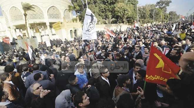 القوى الثورية تحاصر «الاتحادية» 30 يونيو القادم للمطالبة برحيل «مرسى»
