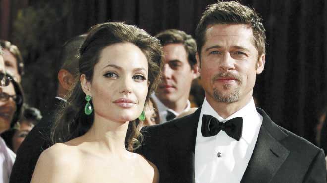 زوج أنجلينا جولى السابق: إنها مراهقة وشبح