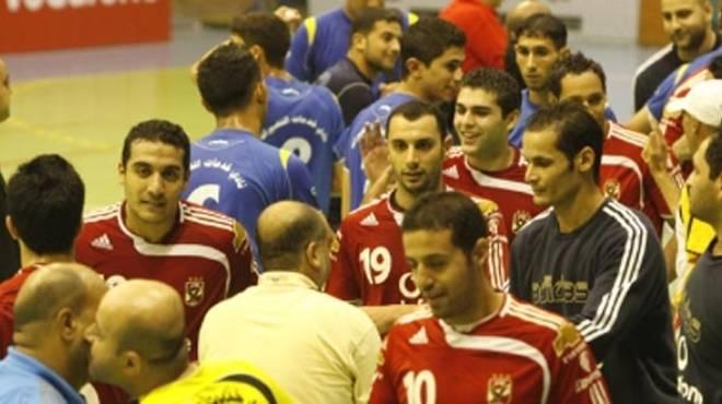 منتخب مصر لكرة اليد يفوز على اتحاد الشرطة وديا