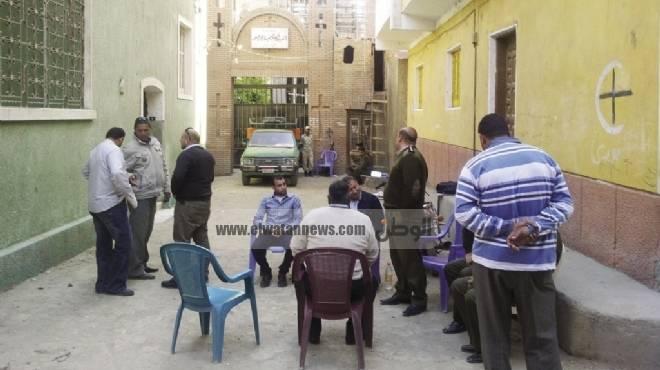 حصار كنيسة «الواسطى» للمرة الثالثة.. وعشرات المصابين فى مواجهات مع الأمن