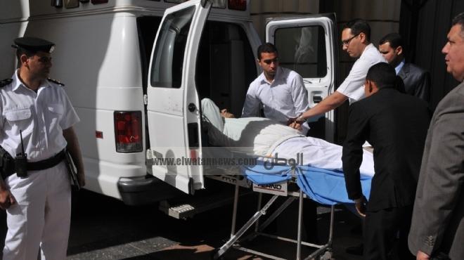 وصول مبارك لأكاديمية الشرطة.. وتأجيل قضيته للجلسة المسائية
