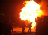 السيطرة على حريق ببنها بجوار مديرية أمن القليوبية