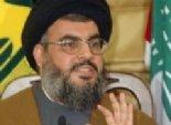 حسن نصر الله: نمتلك صواريخ إيرانية تطال كل إسرائيل
