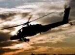 قصف عنيف لطائرة أباتشي مصرية غرب رفح والشيخ زويد