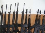 قطاع الأمن العام يضبط 80 قطعة سلاح ناري.. وينفذ 21 ألف حكم