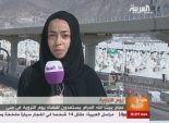 مراسلة سعودية للمرة الأولى من الشعائر المقدسة على قناة