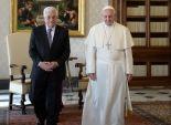 بالصور| عباس يدعو البابا لزيارة الاراضي المقدسة