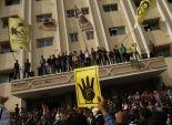 طلاب الإخوان يغلقون مبنى