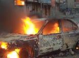 مجهولون يشعلون النيران فى سيارة ملك مدير بالشركة المصرية للاتصالات