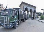 بالفيديو  سيارات الأمن المركزي تتواجد أمام جامعة الأزهر اليوم تنفيذا لقرار