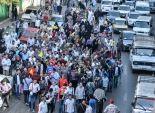 مسيرة لأنصار الإخوان تفر هاربة قبل وصول سيارات الإطفاء ببورسعيد