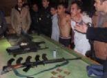حبس عصابة أطفيح بتهم القتل والسرقة بالإكراه وحيازة سلاح وذخيرة