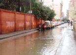 توقف حركة الصيد وتأثر محصول الأرز بالأمطار الغزيرة بكفر الشيخ