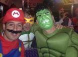 بالصور| لاعبو آرسنال أبطال خارقين في احتفالات الكريسماس