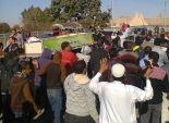 أهالي بني سويف في تشييع جنازة شهيد مديرية أمن القاهرة: