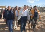 وزير الاسكان  ومحافظ الاسكندرية  يفتتحان محطة مياه